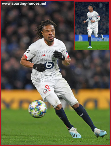 Loic Remy - Lille (LOSC Lille) - 2019-2020 UEFA Champions League