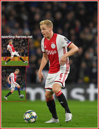 Donny van de BEEK - Ajax - 2019/2020 Champions League Matches.