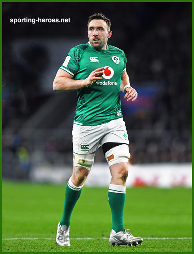 Jack CONAN - Ireland (Rugby) - International Rugby Union Caps.