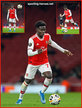 Bukayo SAKA - Arsenal FC - 2019/2020 Europa League.