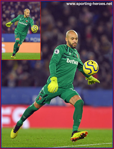 Darren RANDOLPH - West Ham United FC - League Appearances 2nd Spell
