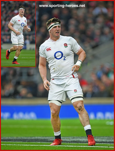 Tom CURRY - England - International Rugby Union Caps. 2020 -