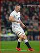 Ben EARL - England - International Rugby Union Caps.