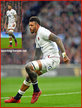 Courtney LAWES - England - International Rugby Union Caps. 2020-