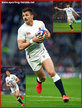 Henry SLADE - England - International Rugby Union Caps. 2020-