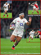 Manu TUILAGI - England - International Rugby Union Caps. 2018 -