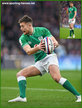 Ross BYRNE - Ireland (Rugby) - International Rugby Union Caps.