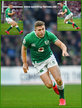 Jordan LARMOUR - Ireland (Rugby) - International Rugby Union Caps.