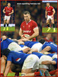 Gareth (1990) DAVIES - Wales - International Rugby Union Caps. 2020-