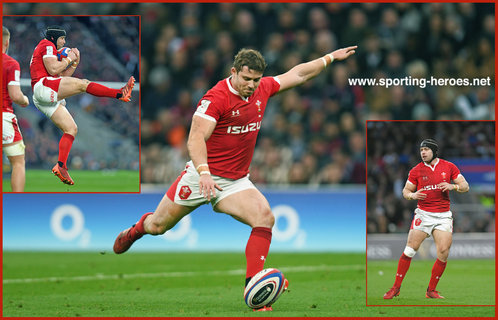 Leigh Halfpenny - Wales - International Rugby Union Caps. 2020-