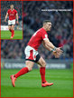 George NORTH - Wales - International Rugby Union Caps. 2020 -