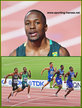 Akani SIMBINE - South Africa - Fourth at 2019 World Championships in 100m.