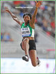 Ese BRUME - Nigeria - Long jump bronze at 2019 World Championships.