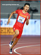 Xie ZHENYE - China - 7th. place in 200m at World Championships.