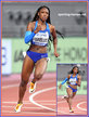Anglerne ANNELUS - U.S.A. - 4th. in 200m at 2019 World Championships.