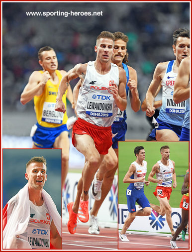 Marcin Lewandowski - Bronze medal in 1500m at 2019 World Championships.