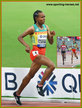 Gudaf TSEGAY - Ethiopia - 1500m bronze in 1500m at 2019 World Championships.