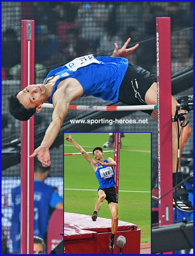 Hup Wei LEE - Malaysia - High jump finalist at 2019 World Championships.