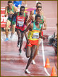 Lamacha GIRMA - Ethiopia - Steeplechase silver medal at World Championships.