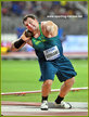 Darlan ROMANI - Brazil - 4th. in shot put at 2019 World Championships.