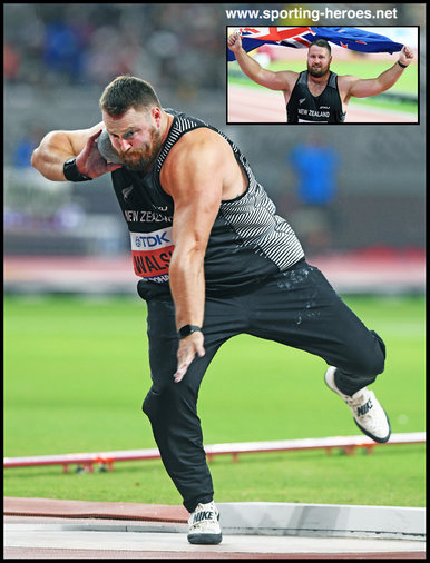 Tomas WALSH - Shot put bronze at 2019 World Championships.