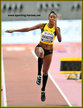 Shanieka RICKETTS - Jamaica - Second at 2019 World Championships