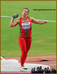 Aliona DUBITSKAYA - Belarus - 6th. in shot put at 2019 World Championships.