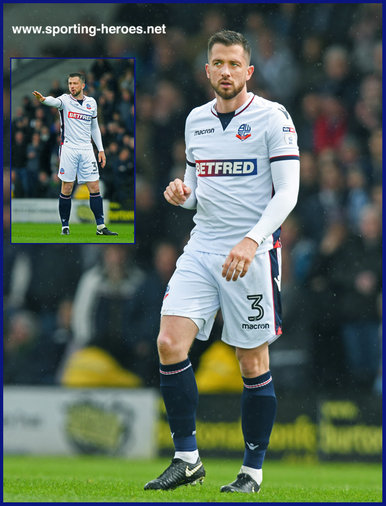 Andrew Taylor - Bolton Wanderers - League Appearances