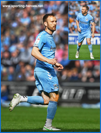 Liam KELLY - Coventry City - League Appearances