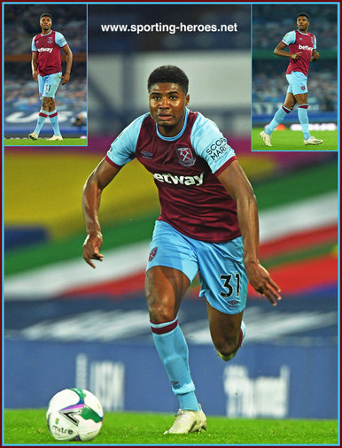 Ben (2000) JOHNSON - West Ham United FC - League apperances.