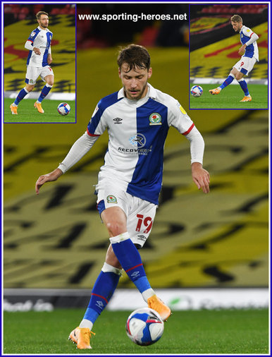 Tom TRYBULL - Blackburn Rovers - League appearances.