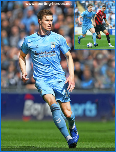 Ben SHEAF - Coventry City - League Appearances