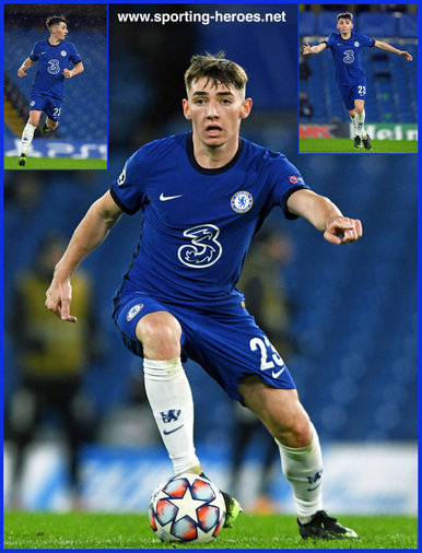Billy GILMOUR - Chelsea FC - 2020-2021 Champions League games.