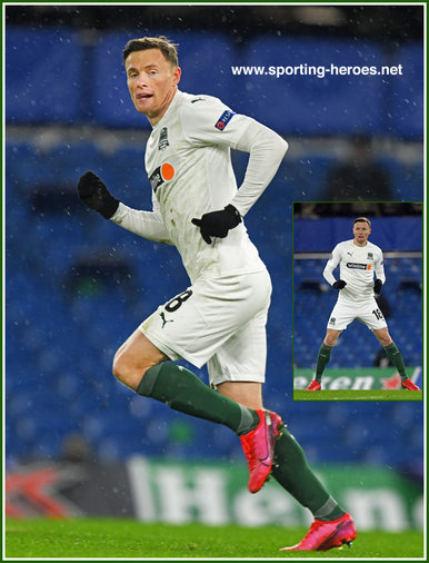 Evgeniy CHERNOV - Krasnodar - 2020-2021 Champions League games.