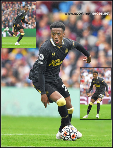Joe WILLOCK - Newcastle United - Premier League Appearances